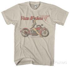 Van Halen - Biker Pin Up T-Shirt XL - Vintage White