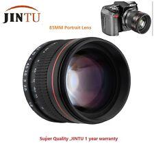 JINTU 85mm f/1.8 Portrait Lens for Canon 70D 50D 40D 30D 20D 10D 7D 1D 5D III II