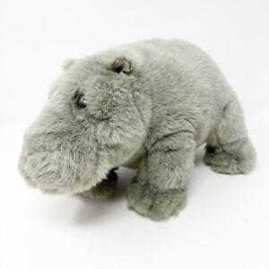 Dakin Artists Collection Lou Rankin Thurgood Grey Hippo Plush Stuffed Animal Toy