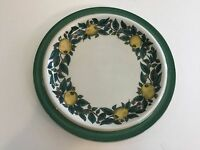 Bavaria Savoy W.Goebel W. Germany Handdecorated Lemon & Leaves OPM Salad Plate
