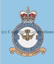 ROYAL AIR FORCE 214 SQUADRON  COASTER