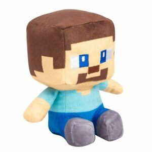 Official JINX Minecraft Mini Crafter Steve Plush NEW Release Nov 2020