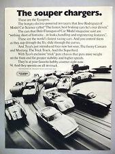 Tyco Tycopro HO Car Racing PRINT AD - 1971