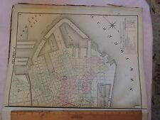 1874 original Beers Map Brooklyn Red Hook Gowanus