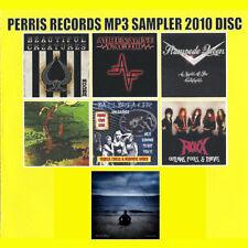 PERRIS RECORDS MP3 SAMPLER CD, BEAUTIFUL CREATURES,DANGEROUS TOYS