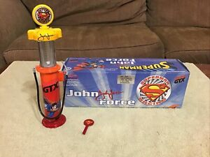 1999 Action JOHN FORCE Superman Castrol GTX NHRA 1/16 Scale Gas Pump