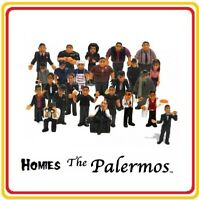 Homies Series Palermos all 24 different figures, great for 1:32 dioramas (loose)