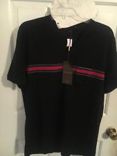 NWT 2014 Gucci V-Neck T Shirt XXL Black Red Green White XL L Abloh LV Crew Bambi