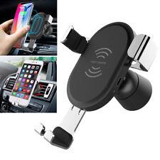 Wireless Charger KFZ Auto Ladegerät Qi Induktive Ladestation Für iPhone Samsung