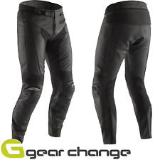 RST 2065 R-18 Leather Motorcycle Trousers Short Leg Black CE Approved 34