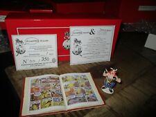 Astérix&Obélix-Ancienne scène Pixi,Obélix et compagnie-boite&certif-350 exempl.