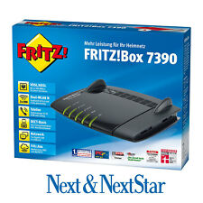 AVM FRITZBox 7390 VDSL DSL Modem Gigabit REPEATER *WIE NEU*