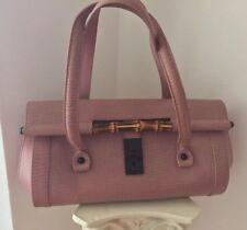 Gucci Bamboo Bullet Pink Handbag RAR Tom Ford Tasche Vintage Luxus Top Soldout