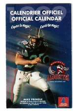 CFL FOOTBALL, MONTREAL ALOUETTES 1999 OFFICIAL SCHEDULE !!