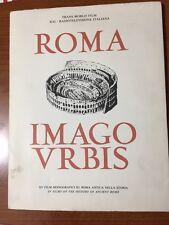 ROMA - IMAGO VRBIS - XV FILM MONOGRAFICI SU ROMA ANTICA NELLA STORIA