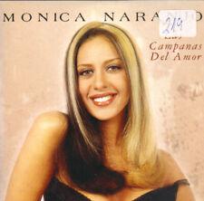 MONICA NARANJO - LAS CAMPANAS DEL AMOR CD SINGLE PROMO 4 TRACKS 1998 SPAIN