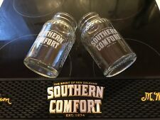 NEW SET Southern Comfort BAR Runner & 2 Jar Glasses NEW SET