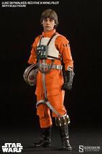 Figura Articulada Luke Skywalker Piloto X-Wing Star Wars 30 cm Sideshow