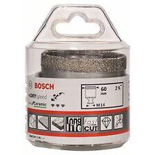 Bosch 5290560 Dry Speed Fresa Diamantata, Diametro 60 mm (H3m)