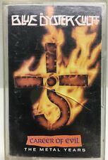Blue Oyster Cult Career Of Evil The Metal Years Cassette Tape CT44300