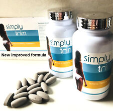 SIMPLY TRIM NATURAL WEIGHT LOSS SLIMMING FAT BURNER PILLS 28 TABLETS 1 WK SUPPLY