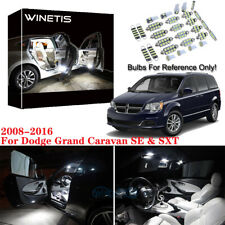 6x Bulbs LED Interior Light Kit White For Dodge Grand Caravan SE & SXT 2008-2016