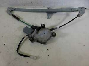 VAUXHALL AGILA 1999-2008 WINDOW REGULATOR/MECH ELECTRIC FRONT DRIVER/RIGHT SIDE