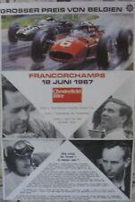 * GP Belgien 1967 Spa Francorchamps Formula 1 programme folder  Jim Clark  *