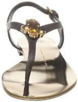 new RRP $560 GIUSEPPE ZANOTTI LEATHER SHOES JEWELLED THONGS 8.5