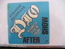 BACKSTAGE PASS DIO WORLD TOUR 1993 1994 STRANGE HIGHWAYS