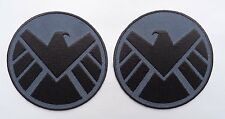 AVENGERS Movie SHIELD 3.5 INCH 2 PC Shoulder HOOK PATCH