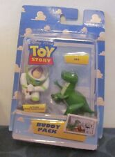 Toys Story Buddy Pack Action Buzz Lightyear & Rex Mint in Package
