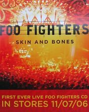 FOO FIGHTERS POSTER, SKIN AND BONES (F5)