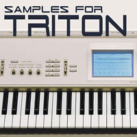 SAMPLES & PCG for KORG TRITON & TR, KEYMAPS READY TO PLAY KMP & KSF - DOWNLOAD