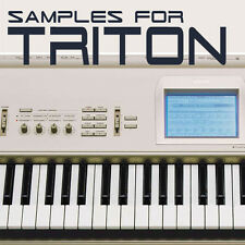 SAMPLES & PCG PROGRAMS for KORG TRITON & TR, Keymaps KMP, KSF & KSC FILES