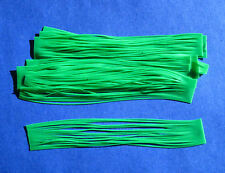 10 Silicone Skirt Tab Lime Lure Making Craft Bass Jig Spinner Bait Strip kits