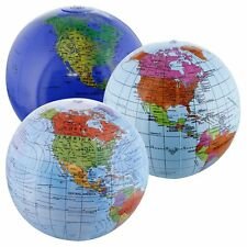Inflatable Earth Globe Clear and vivid colors inflatable world globe