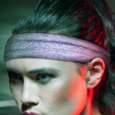 1x Femme Serre Tête Elastique Bande Cheveux Sport Turban Yoga Gym Bandeau Cadeau