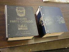 OEM Ford 1973 1979 Master NOS Parts Books Mustang Torino Thunderbird Maverick +
