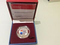 G20 SEOUL 2010 SILVER PROOF COMMEMORATIVE COIN 30,000 WON WITH CERTIFICATE