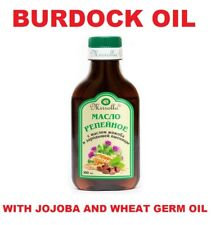 Burdock Root Oil with jojoba and wheat germ oil Natural Hair Loss Treatment
