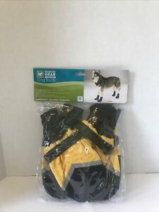 Guardian Gear  XL Dog Boots Water Repellent Yellow NEW.