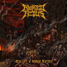 "ABORTED FETUS ""The Art of Violent Torture"" death metal CD"