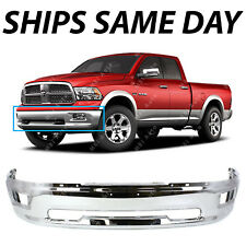 NEW CHROME - Front Bumper Face Bar for 2009 2010 2011 2012 Dodge RAM 1500 W/ Fog
