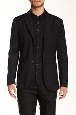 John Varvatos Collection Peak Lapel Jacquard Blazer Size 50 NWT $1598 Made Italy