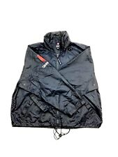 VTG Chaps Ralph Lauren Windbreaker Jacket Sz L Navy Blue Full Zip VTG 90s E74