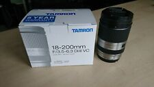 Tamron 18-200mm f/3.5-6.3 Di III VC Lens - Sony E Mount, excellent condition