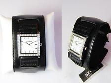 Axcent of Scandinavia Damen Armbanduhr Broadband Steinbesatz Damenuhr Neu #034
