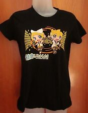 KAGAMINE RIN & LEN youth med T shirt vocaloids kids tee CV02 anime