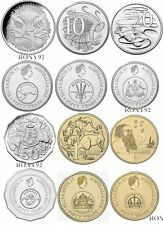 2016 Australian COINS $1 $2 50c 20c 10c 5c 50th anniversary of Decimal Currency